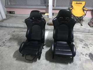SSCUS Semi Bucket Seat