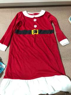 Brand New Carters Christmas Girl Dress size 2-3 years