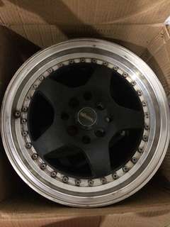 "15"" Ikara performance rims x4"