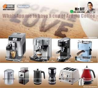 Coffee Maker semi/fully auto machine & accesorries