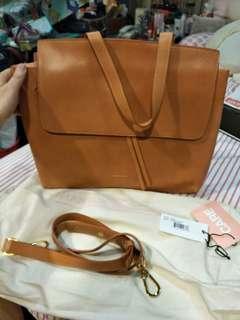 Mansur Gavriel Lady Bag in Cammello and Rosa Color