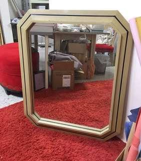 Mirror Mirror wood frame