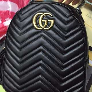 Gucci Backpack Marmont Quilted Leather Bag
