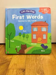 Lift-The-Flap First Words