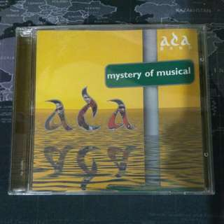 VCD DVD ORIGINAL ADA BAND MYSTERY OF MUSICAL