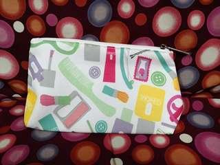 Clinique makeup bag 化妝袋 pouch