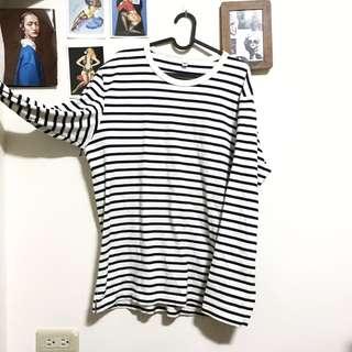 🚚 Uniqlo 條紋長袖上衣