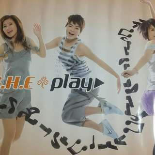 S.H.E Play Poster Official