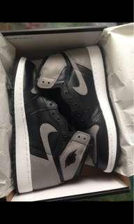 Shadow Air Jordan 1s