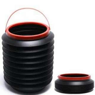 🚚 多功能摺疊筒 車用收納桶 置物筒 垃圾桶 雨傘
