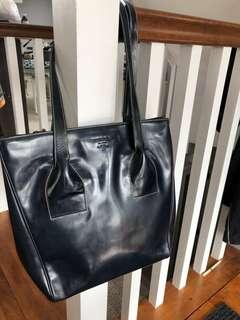 AUTH Prada Spazzolato Shoulder Bag