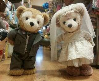 100% 香港 人手專業製造  43cm 結婚 Duffy ShellieMay Stellalou 專用 西裝 晚禮服 婚紗 服飾 套裝 訂造 (不連公仔)