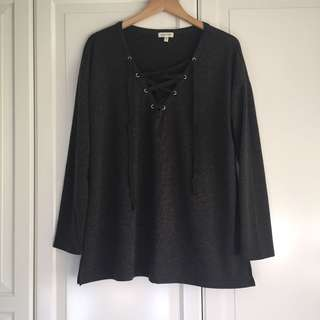 Urban Outfitters Silence + Noise Tex Top