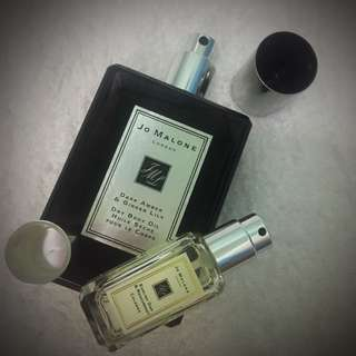 Original Jo Malone London Dry Body Oil & Cologne