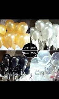 FREE POS Latex Pearl Balloon 20pcs