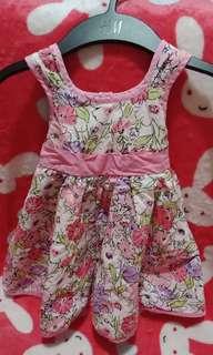 Oshkosh pink floral dress