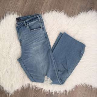 Abercrombie & Fitch Simone Kick Flare Jeans