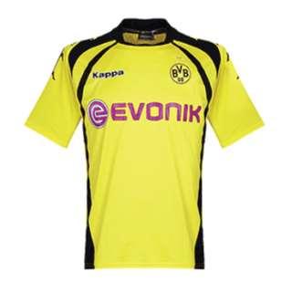Kappa Borussia Dortmund 2009/2010 Home Soccer Jersey