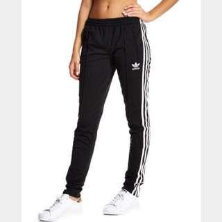 BNEW Adidas Originals Zipper Track pants with stripes