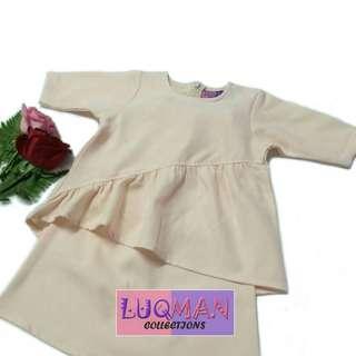 Baju kurung darwisha (baju raya baby)