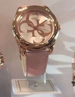 authentic Guess gtwist rose gold