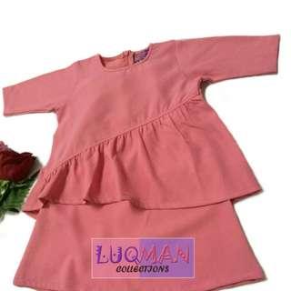 Baju Kurung Baby (baju raya baby)