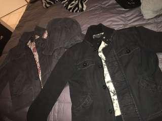 ARITZIA fall or light winter jackets size M