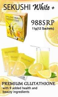 Sekushi White+ Juice