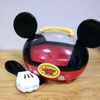 Tokyo Disneyland/Disney Resort Mickey Mouse Popcorn Container/Lunch Box