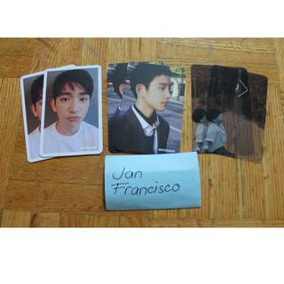 GOT7/JJP OFFICIAL PHOTOCARDS