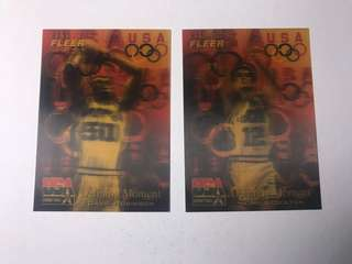 Fleer Special Issue Olympics Lot of 2