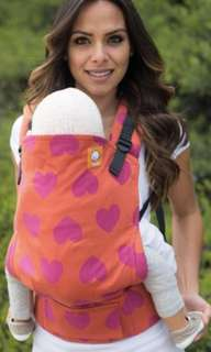 Price Reduction! BNWT Tula Full WC Toddler Carrier - Love Du Jour with black box