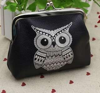 Dompet koin owl