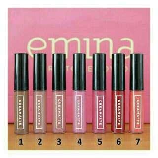 [OPEN PO] Emina Lip Cream Matte