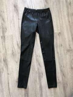 Wilfred Daria Faux Leather Leggings XXS
