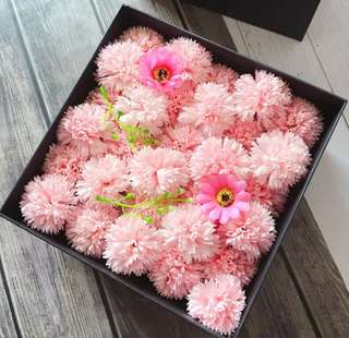 Mother's day special carnation in bloom box