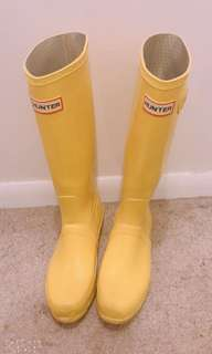 [fire sale] hunter rain boot(rare colour)