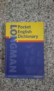 Clearancr Sale LongMan Pocket English Dictionary.