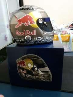 Vettel 1:2 Scale Helmet Red Bull Racing