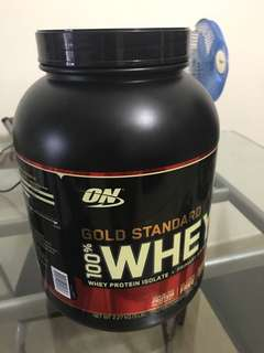 On whey protein