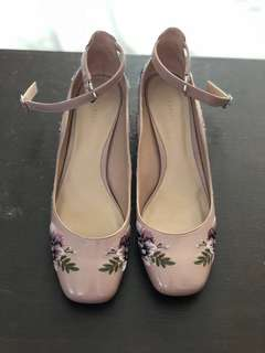 Dainty Floral Shoes