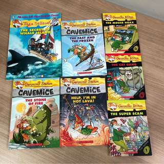 Geronimo Stilton and Thea Stilton