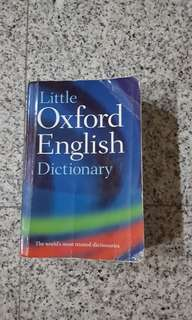 Clearance Sale Little Oxford English Dictionary ($5 only)