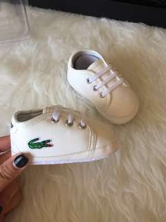 Lacoste baby shoes 😍