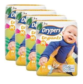 Drypers Drypantz M / L / XL / XXL Carton Sale