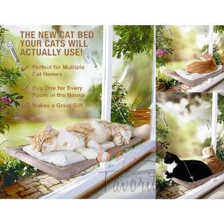 Window Mounted Cat Bed (READY STOCK)