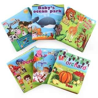 Cloth Book ( 1 set 6 books )