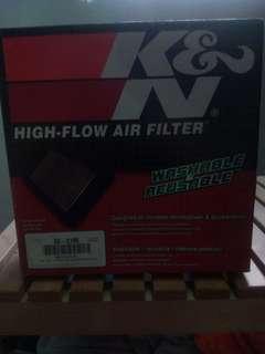 Knn air filter for mitsubishi lanncer cs3