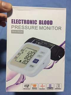 blood pressure monitor with voice function