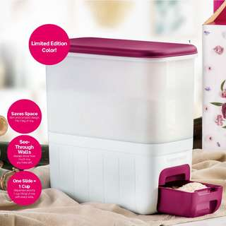 Tupperware Rice Smart 10.0L (Purple *Limited Edition Colour) with free Item!
